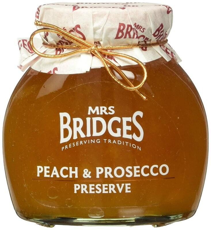 Mrs. Bridges Peach & Prosecco Preserve