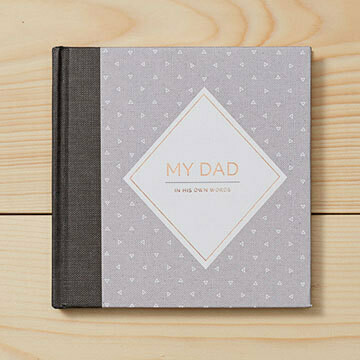 My Dad-In His Words Interview Journal