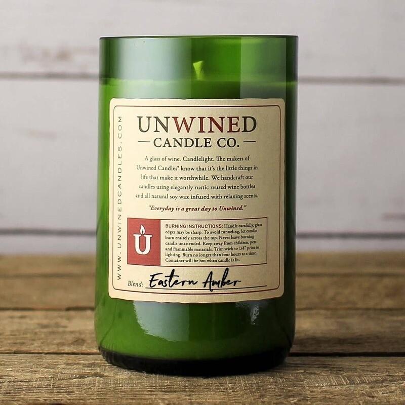 Unwined Eastern Amber Signature Candle 12oz