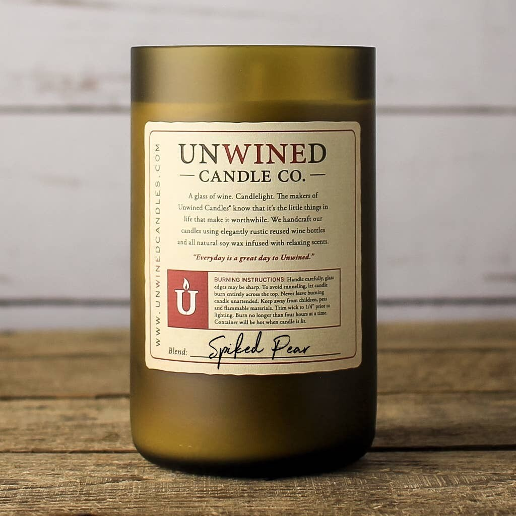 Unwined Spiked Pear Signature Candle 12oz