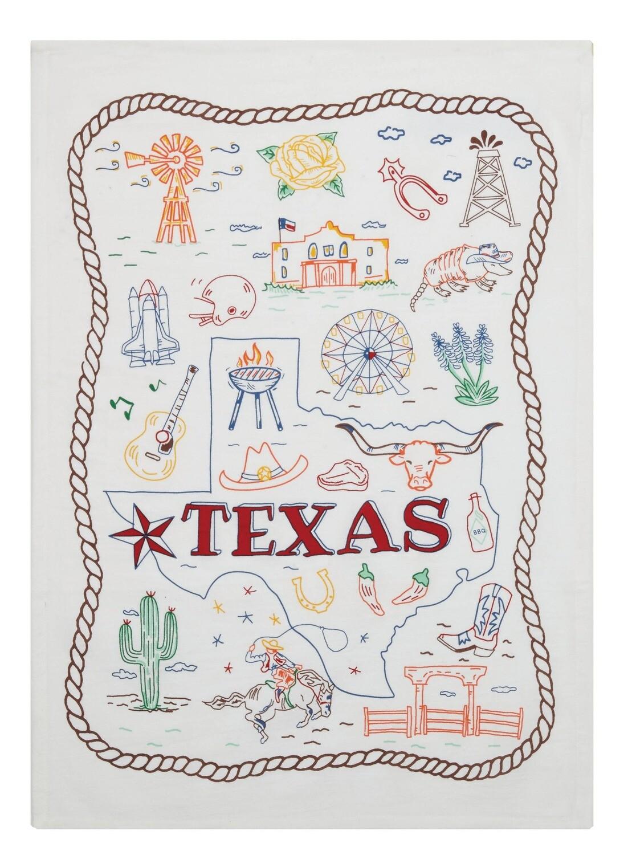 Texas Dish Towel/Bar Towel
