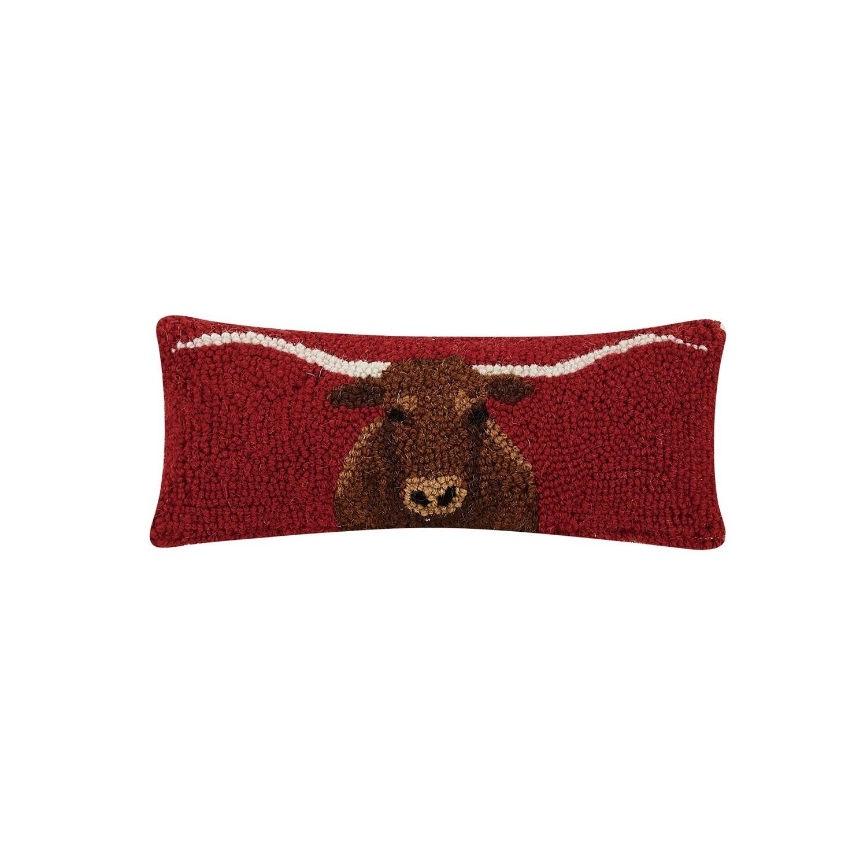 Longhorn Hook Pillow