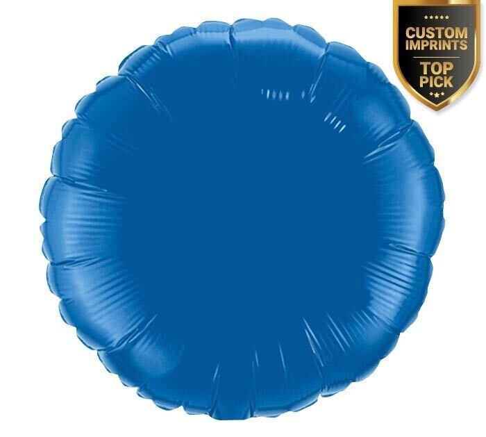 Solid Dark Blue Balloon