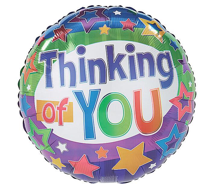 Thinking of You Stars Balloon