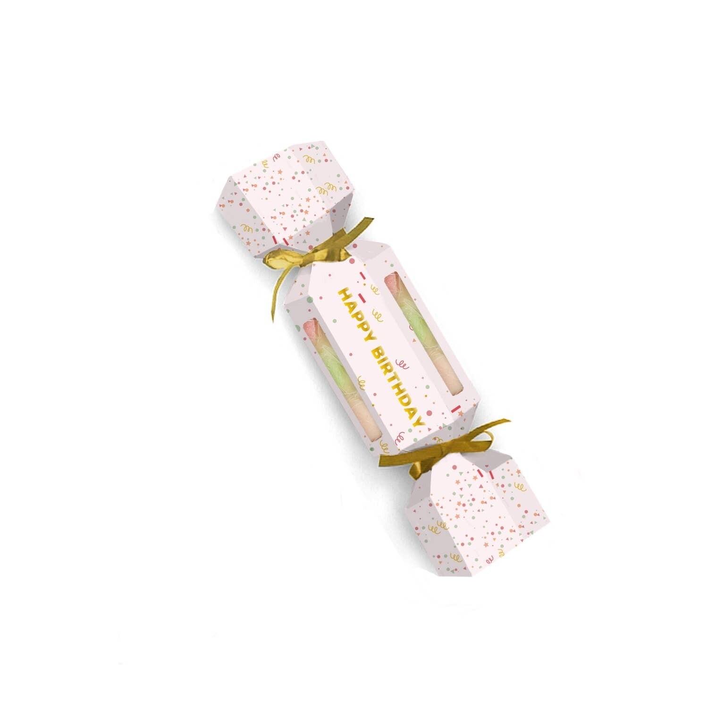 Happy Birthday Sugar Scrub Cracker