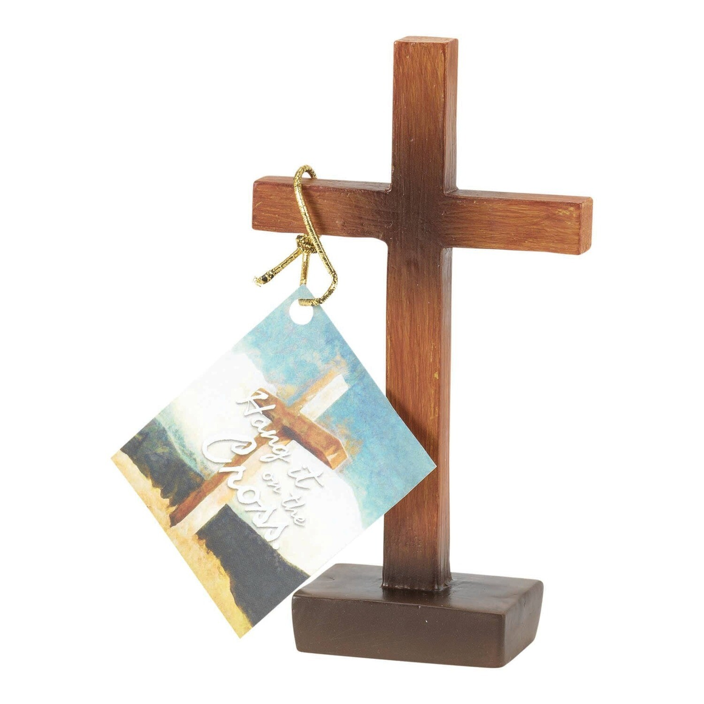 Hang It On The Cross Tabletop Cross