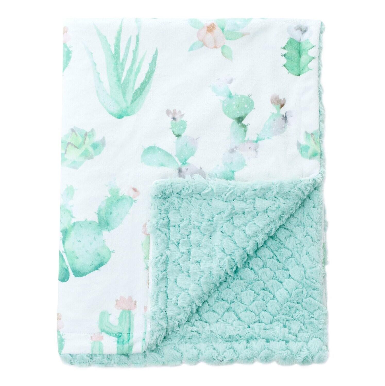Blanket Love Cactus Bloom Baby Blanket