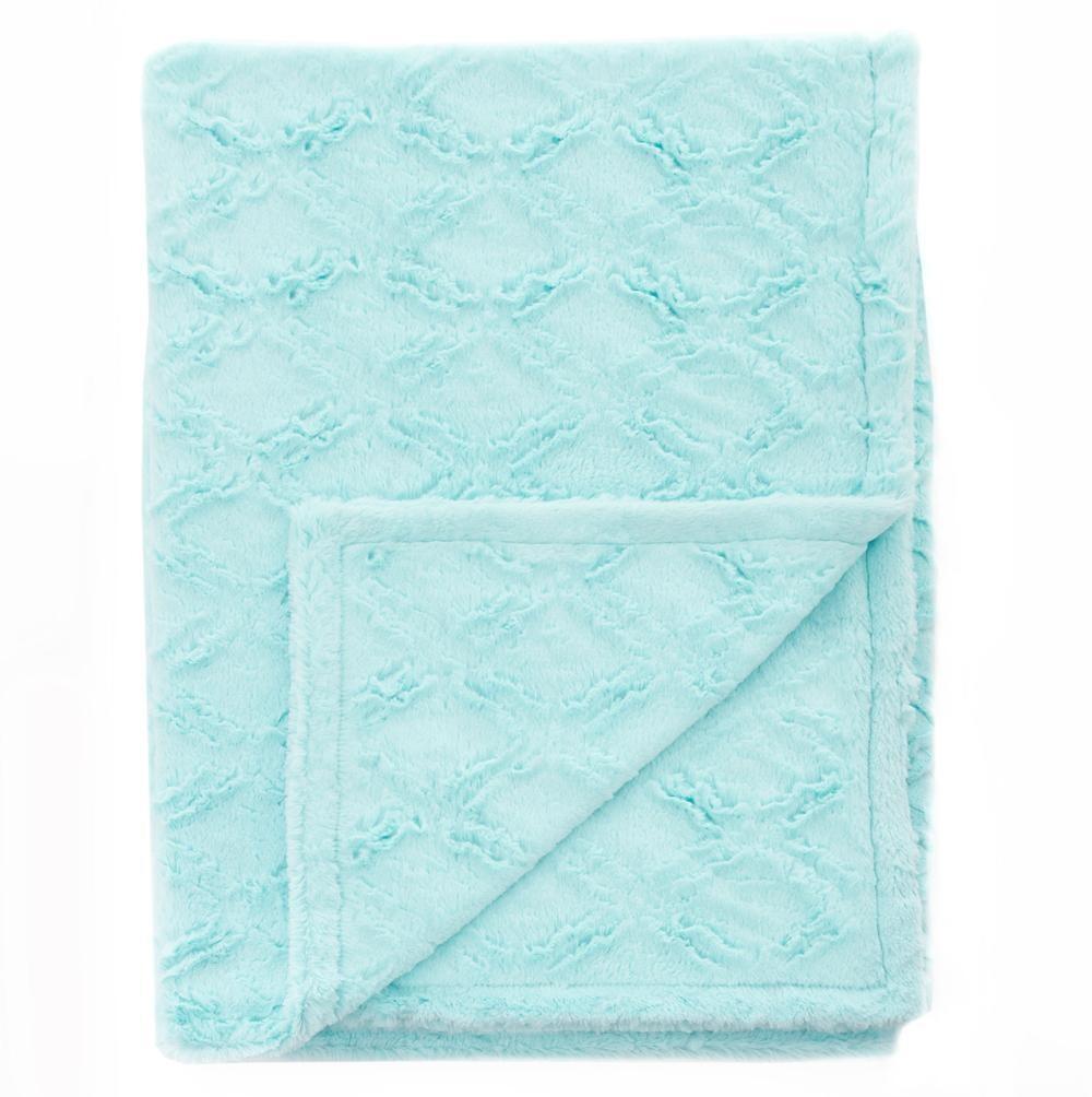 Blanket Love Paradise Blue Baby Blanket