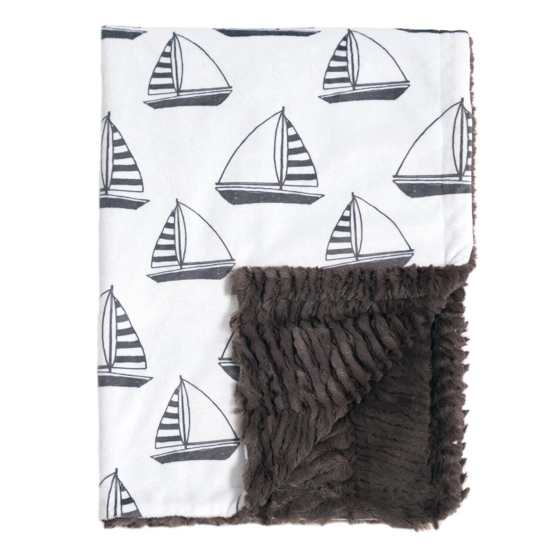 Blanket Love Sailboat Baby Blanket