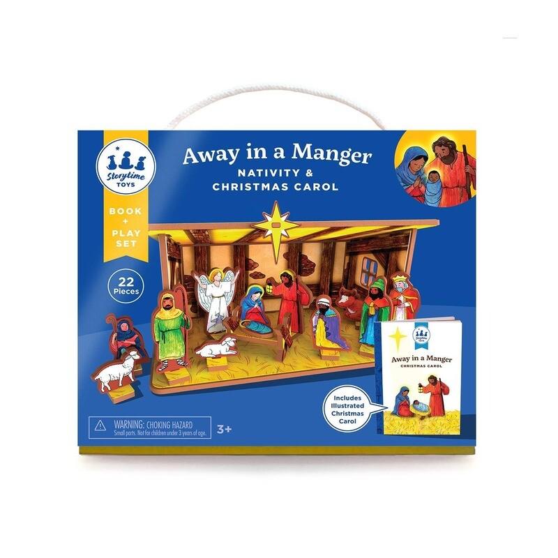 Away In A Manger Children's Nativity & Storybook Set