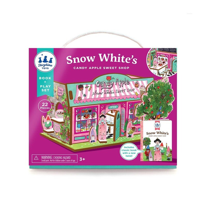 Snow White's Sweet Shop & Storybook & Play Set