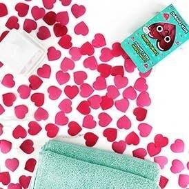 Heart Shaped Bath Confetti