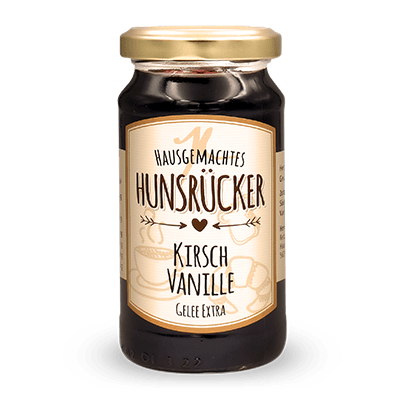 Kirsch-Vanille Gelee