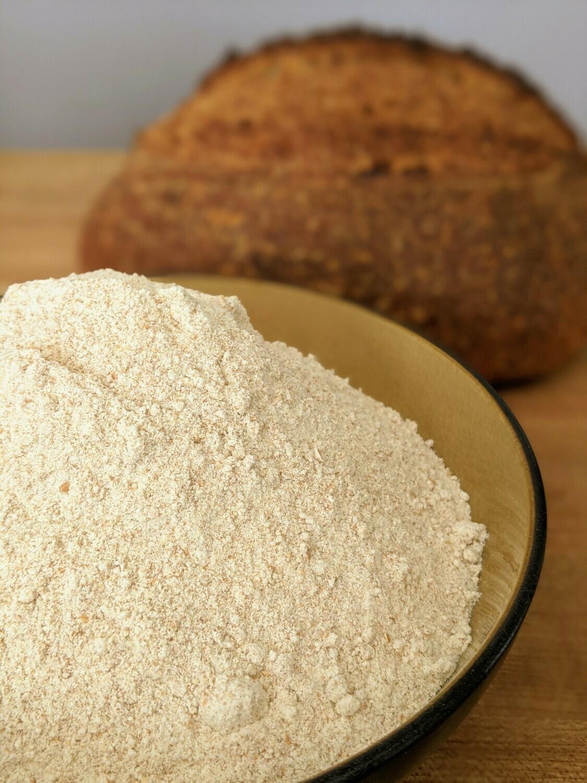 Freshly Milled Organic Spelt Flour - 3 lb bag