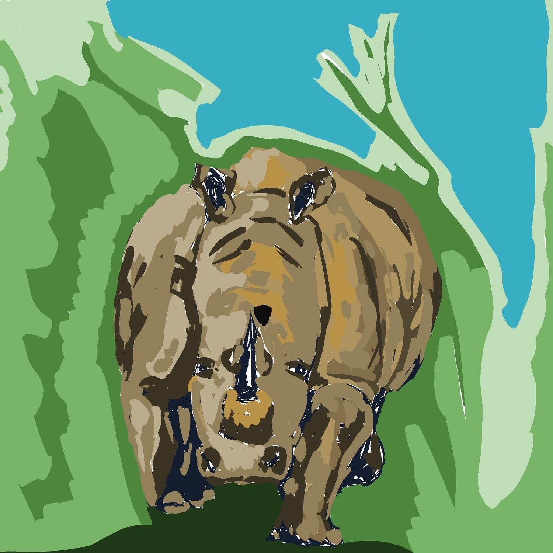 Digital Download Rhino
