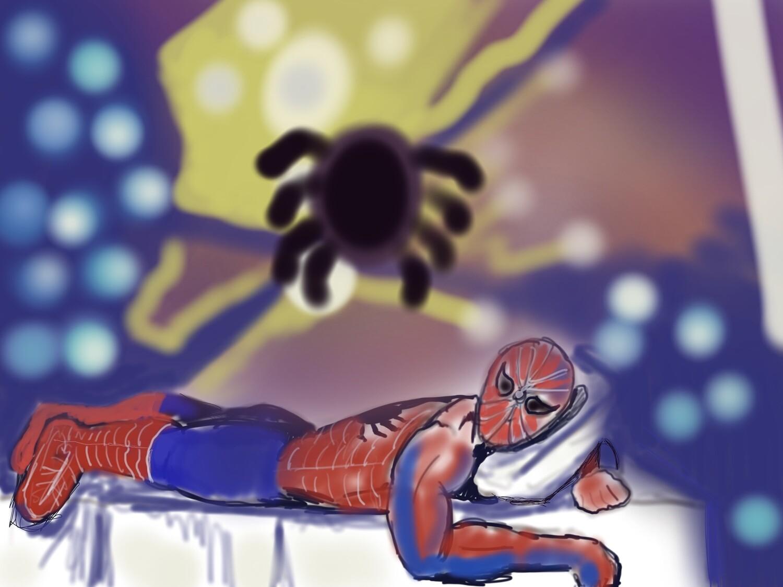 Digital Download Spiderman at Rest