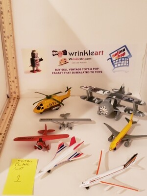 Toy planes and jets