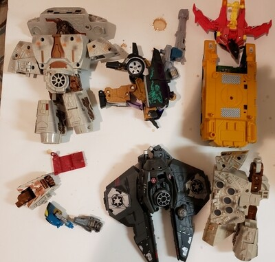 Transformers Parts 3 Lot As Is
