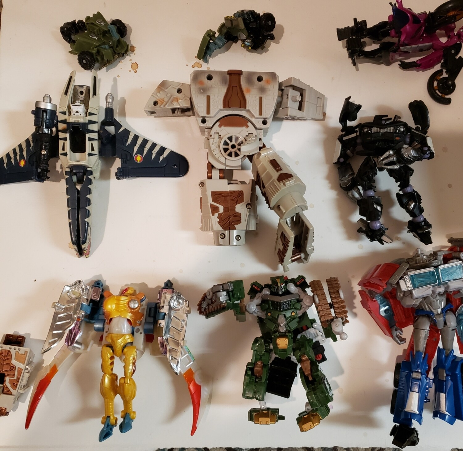 Transformers Parts 1 Lot As Is