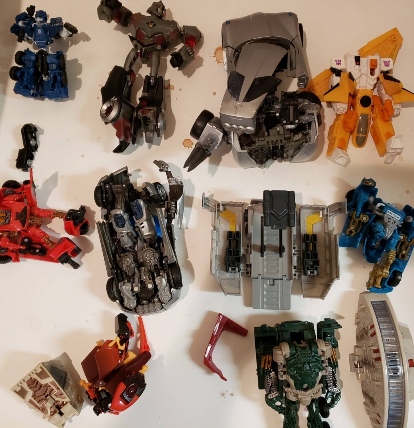 Transformers Parts 2 Lot As Is