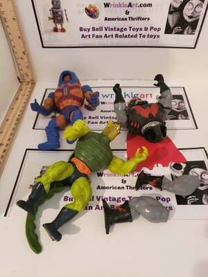 MOTU 1980s Lot and Parts