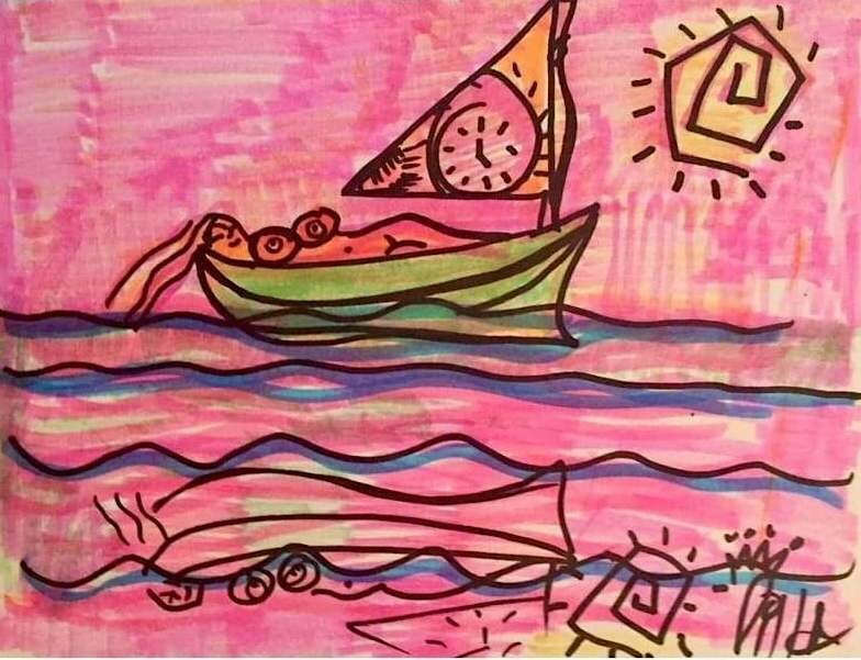 Sail With Clock