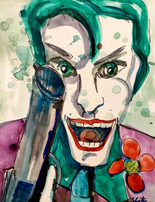 Joker With Gun