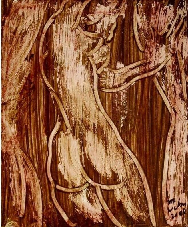 Nude in Brown