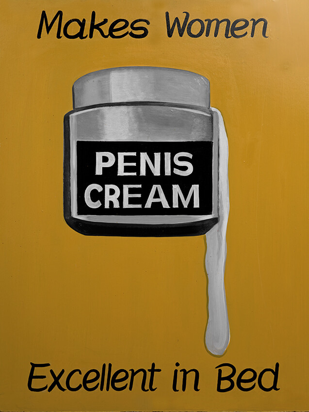 Poster Penis Cream