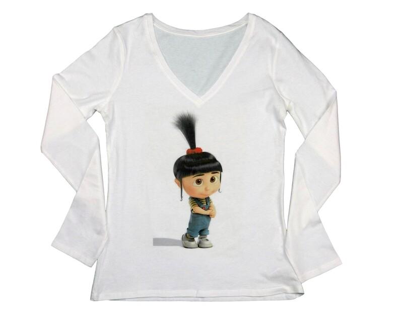 "Long sleeve shirt - ""Despicable me"" - Agnes"