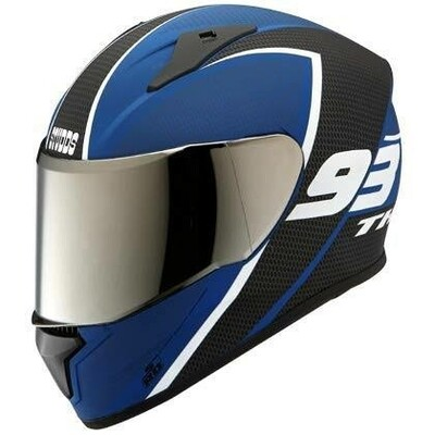Studds Thunder D3 black blue