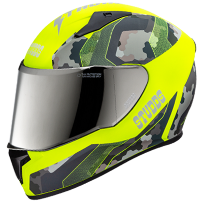 THUNDER D5 N5 DECOR WITH MIRROR VISOR
