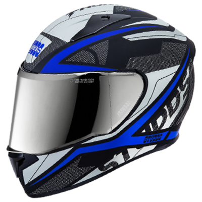 THUNDER D4 N1 DECOR WITH MIRROR VISOR