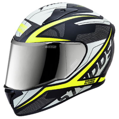 THUNDER D4 N5 DECOR WITH MIRROR VISOR