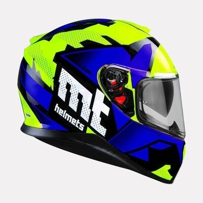 MT Thunder3 SV Torn Gloss Helmet Blue