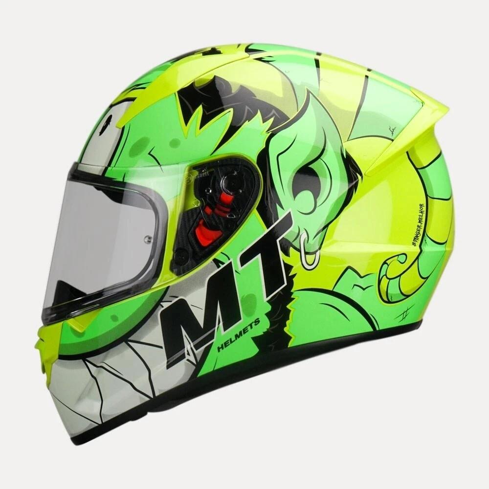 MT Stinger B Melkor Helmet Flour yellow