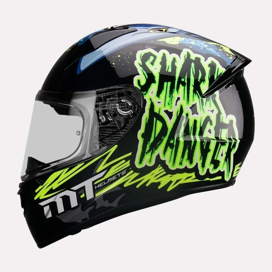 MT Stinger B Shark Helmet