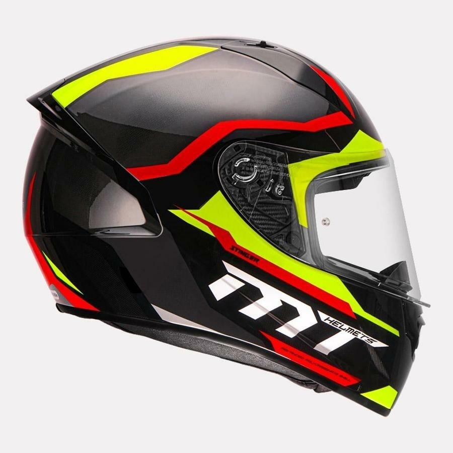 MT Helmet Stinger B Supra C5 GLOSSY RED