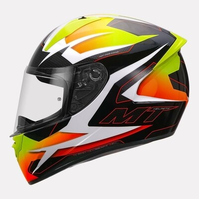 MT Helmet Stinger B Powered A3 GLOSSY YELLOW