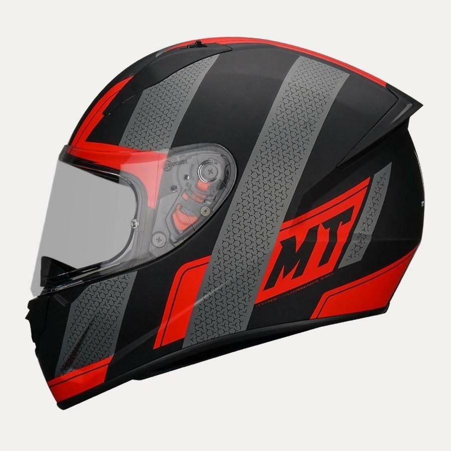 MT Helmet Stinger B Affair A5 Matt RED