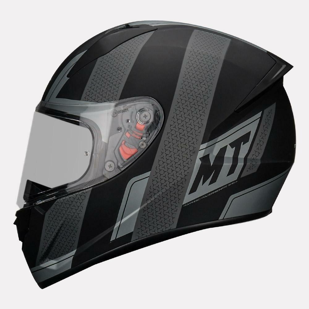 MT Helmet Stinger B Affair A2 Matt GREY