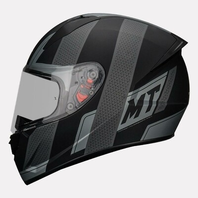 MT Helmet Stinger B Affair A2 Matt GREY