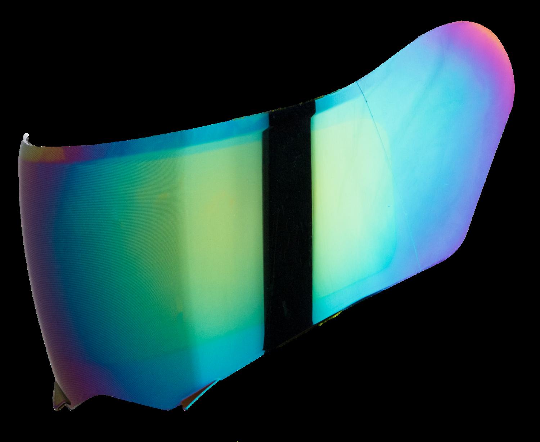 STEELBIRD SA-1 AERONAUTICS  RAINBOW VISOR