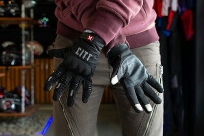 City Full Gloves (Black