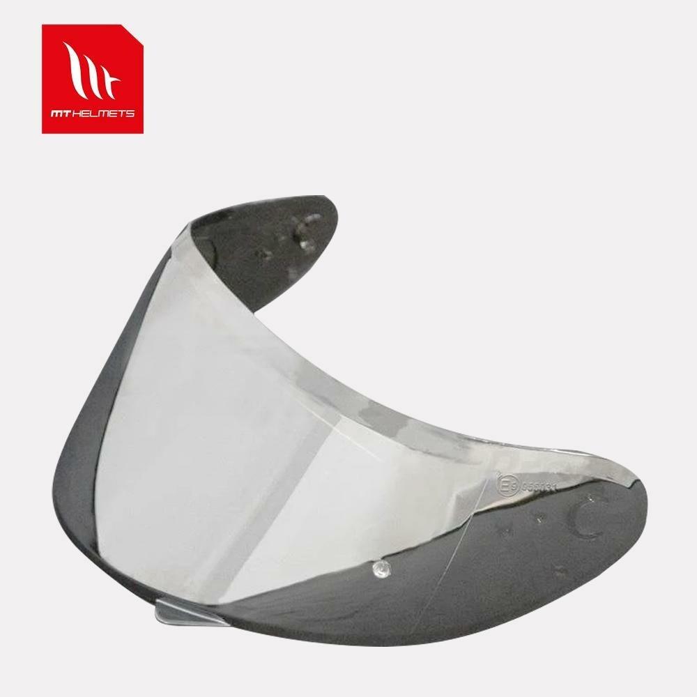 MT Helmet - V14 Pin-lock ready Visor Silver Iridium