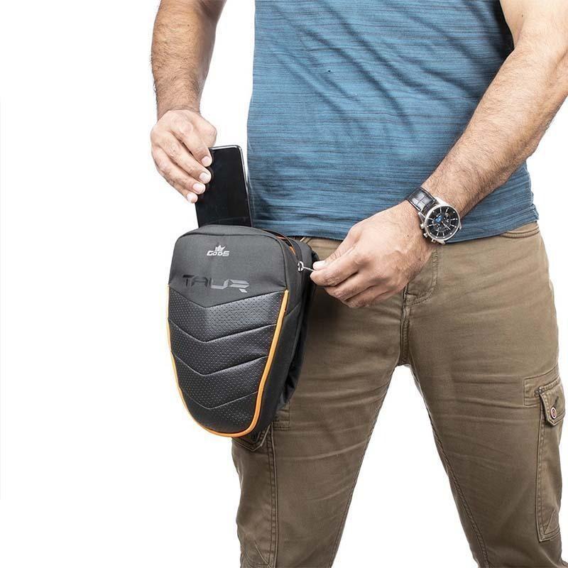 Taur - 4 in 1 riding thigh bag, waist bag, sling bag and tank pouch