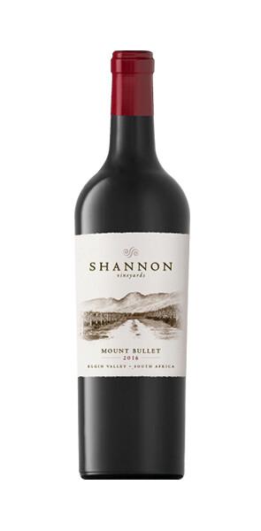 Mount Bullet Merlot Shannon Vineyards RSA