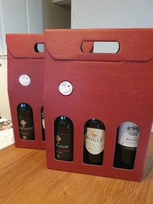 3 flessen in geschenkverpakking