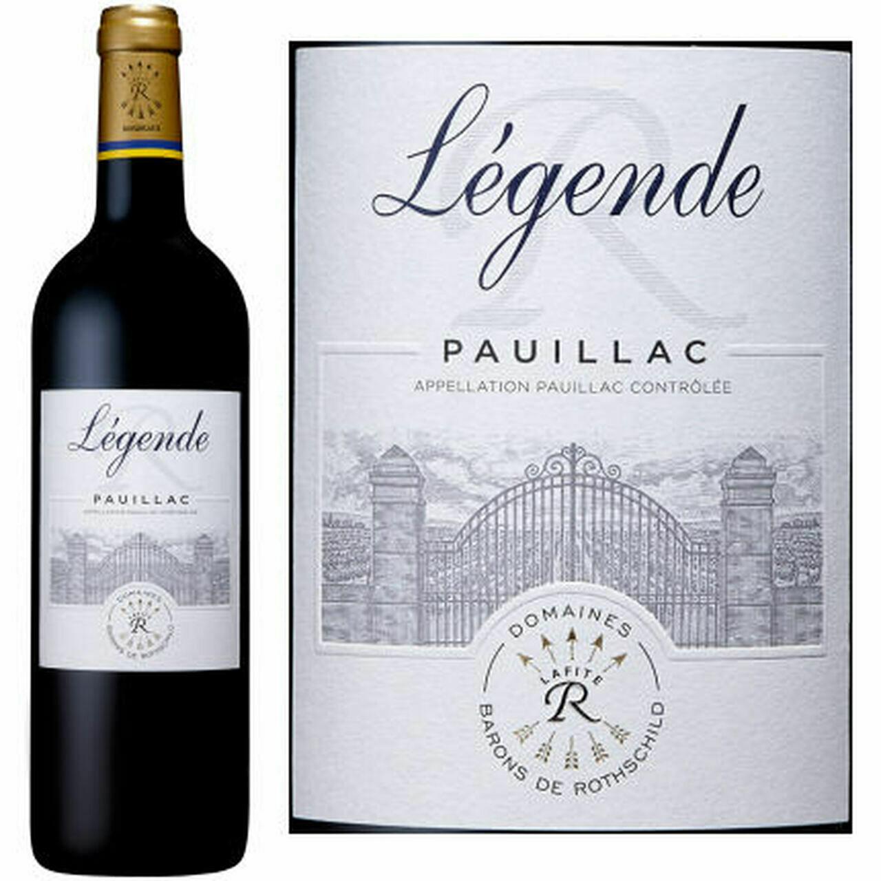 Légende de Pauillac - 3de wijn Lafite Rothschild