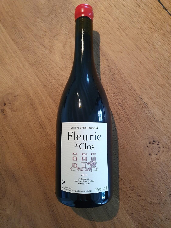 Fleurie Le Clos gevinifieerd zonder sulfieten